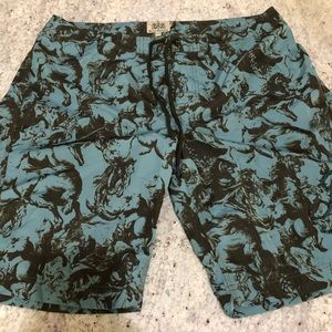 Juicy Couture Men's Swim Trunk - Size XXL
